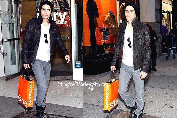 Mi Novembre, Notre Vampire faisait du Shopping ..