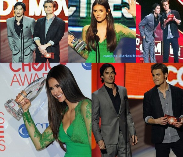 Le 11 Janvier 2012 - Les People's Choice Awards