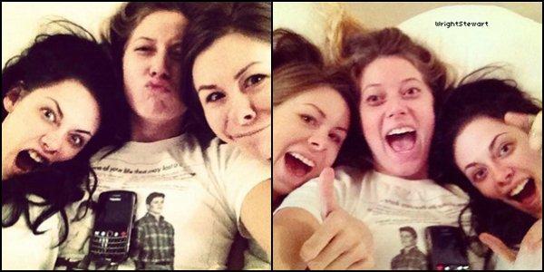 ❛ KRISTEN & BONNIE — Photos personnelles + Infos concernant Kristen & une vidéo flashback de Bonnie!
