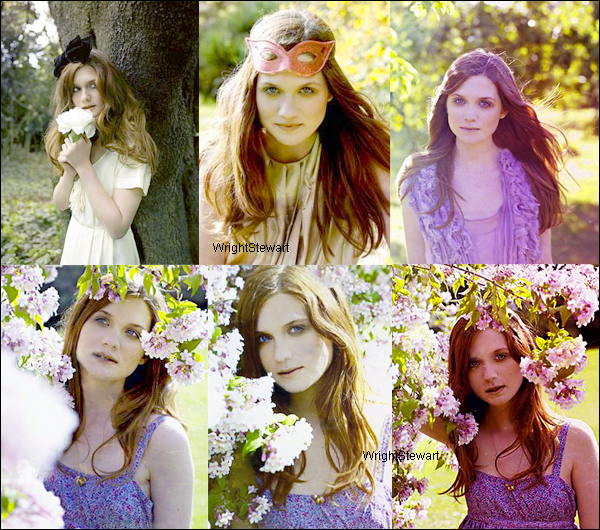 ❛ BONNIE — FLASHBACK ; Photoshoot datant de 2009.