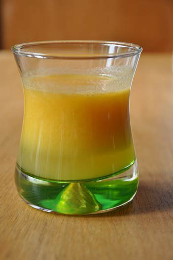 jus de fruit pomme-orange