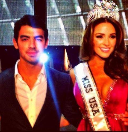 miss USA et Joe Jonas
