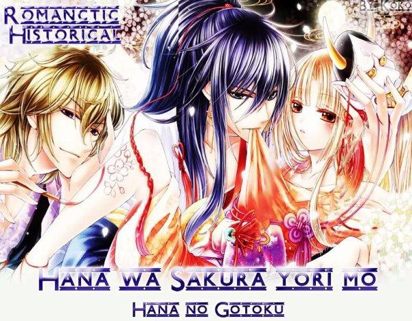 Manga — Hana wa Sakura yori mo Hana no Gotoku