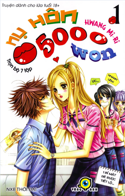 Manhwa — The Guy Who Will Give a Kiss for 5000 wons