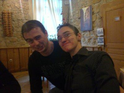 mon frere et mon cousin zouz