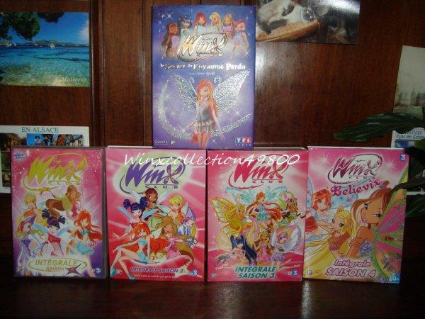 J'ai enfin les 4 saison Intégral et le Film 1 il ma reste a trouvée le DVD In Concert