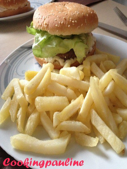 Hamburger au chèvre