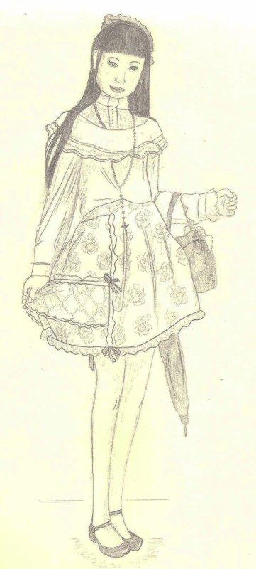 Parce que je sais aussi faire de vrais dessins (2)...