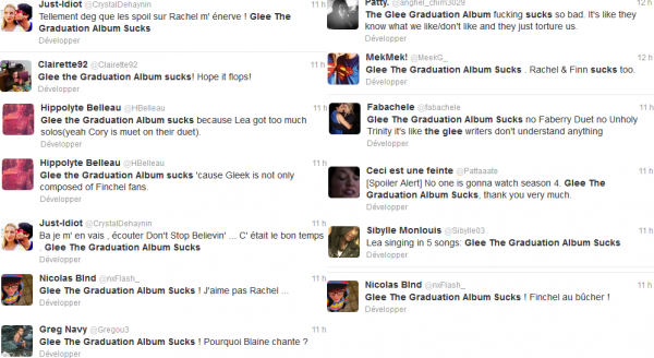 """Glee The Graduation Album Sucks"""