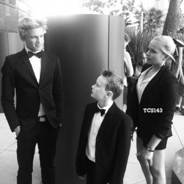 """05/06/12 ✖ Cody, Alli et Tom à l'avant première de """"Let In Shine"""" à Los Angeles en Californie. +Le nouveau clip de Cody."""
