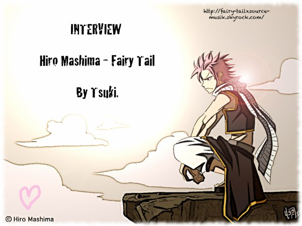 xArtiicle.: 7Interview sur Fairy Tail.