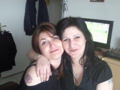 moi et ma petite soeur Abighaelle