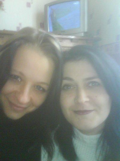 moi et ma cousine Angélique