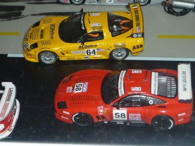 La Ferrari à rejoins le stand
