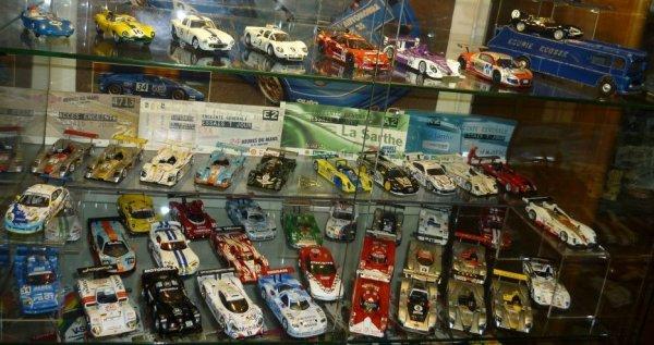 Vitrine Le Mans