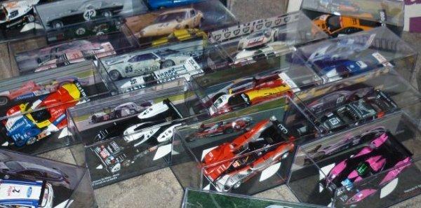 Encore un nouvel aménagement de la vitrine Le Mans !!!