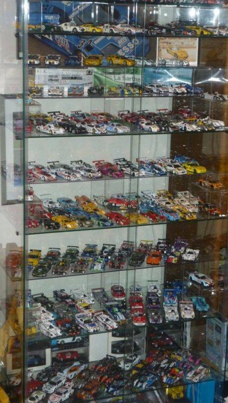 Nouvelles photos de la vitrine Le Mans