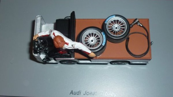 Le Trolley du Joest Racing !!
