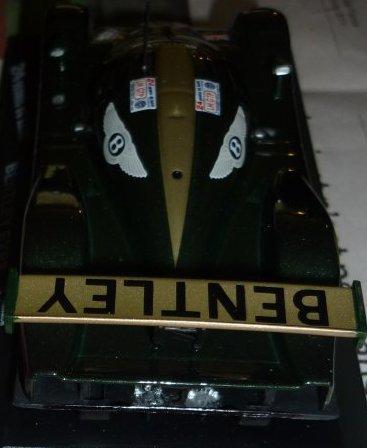 Petits avancés sur la Bentley