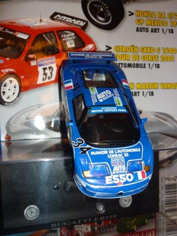 La Bugatti viens de recevoir ses derniers décalques !!