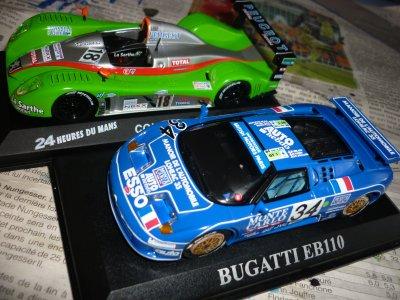 La Courage et la Bugatti sont presque terminées