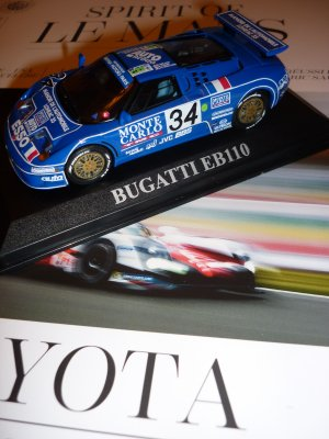 La Bugatti est prête à rejoindre la vitrine !!