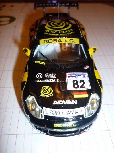 La Porsche de 2002 est terminée