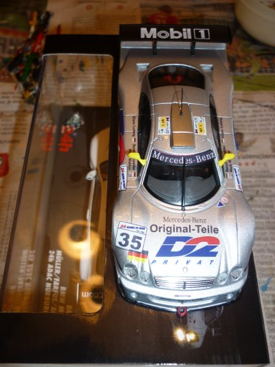 Transformation d'une Mercedes CLK-LM suite (2)