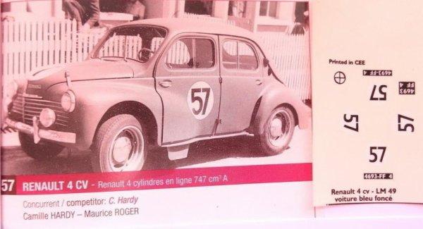 Chantier de la 4CV de 1949 ... suite