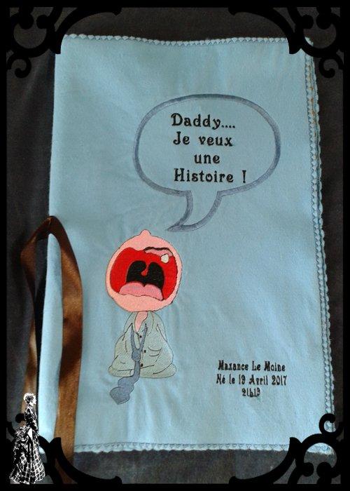 Livre Brodé - 3 langues au choix