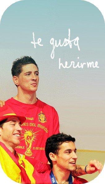 Sergio Ramos et Fernando Torres !