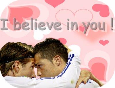 Sergio Ramos et Cristiano Ronaldo !