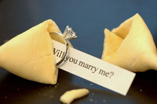 Marry you.