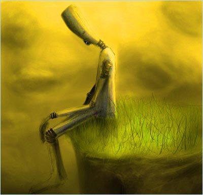 Je ne vois pas pourquoi on ferait un travail de deuil. On ne se console pas de la mort de quelqu'un qu'on aime.