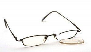dessoler problème de lunettes verre tomber pour la 3 foie