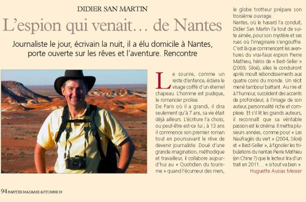 L'espion qui venait de Nantes. Un portrait de Nantes Madame