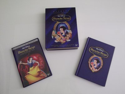 1 - Blanche Neige et les 7 Nains - Collection DVD