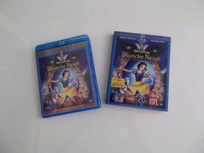 1 - Blanche neige et les 7 nains - Collection Blu-ray Disc