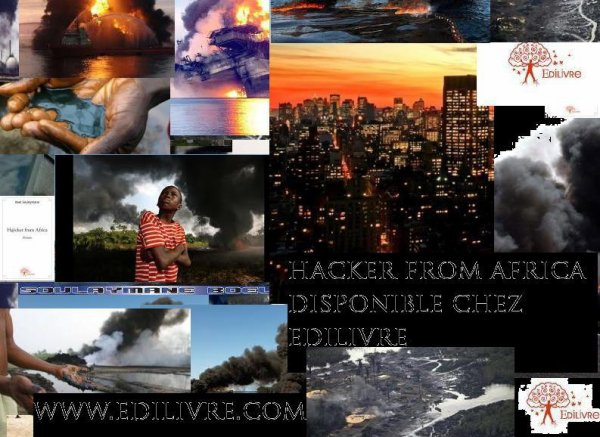 hacker FROM AFRICA PREMIER ROMAN DE L'ECRIVAIN SOULEYMANE BOEL