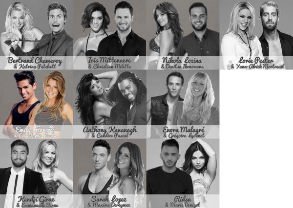 💃 Les Candidats de Danse Avec Les Stars Saison 1 💃