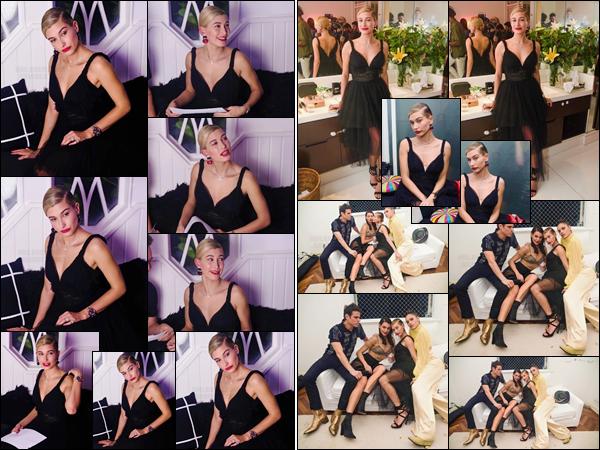 '- '- 10/11/17 -'''◊''Hailey Baldwin était présemte à la soirée « Own the Party » par Carolina Herrera, à São Paulo. Étant désormais au Brésil depuis quelques jours, Hailey Baldwin a pris la pose lors de cette soirée vêtue pour l'occasion d'une splendide robe toute noire.-