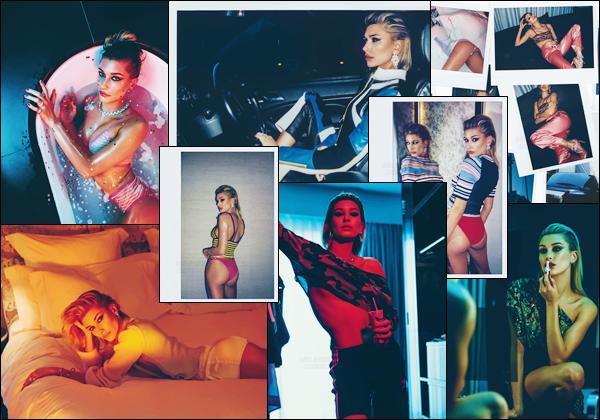 - ▬ Hailey Baldwin fait un photoshoot pour le « Wonderland Magazine » pour l'hiver 17/18 !-