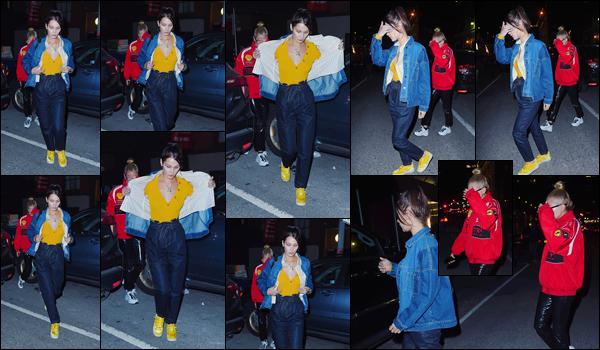 '- '-•-11/12/17 -'''─''Hailey Baldwin quittait la boîte de nuit « Irving Plaza » avec son amie Bella Hadid, dans New York City ! Bien sûr, Hailey est de retour chez elle à New York après sa courte escapade à Toronto pour présenter le Jingle Ball de la iHeartRadio ! Top ou un flop ?-