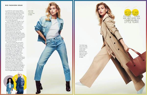 - ▬ Hailey Baldwin apparaîtra dans le magazine « Grazia UK » pour la Big Fashion Issue 2018 !-
