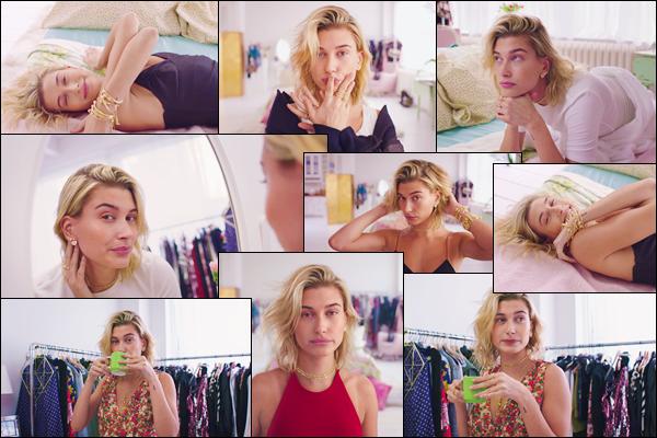 - ▬ Hailey Baldwin a pris la pose pour « Vogue Italy x Pandora » et la collection pour 2018 !-