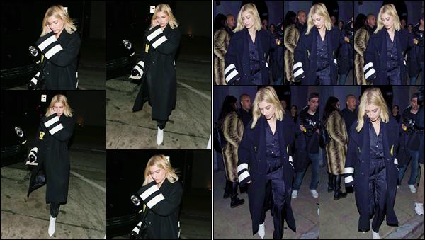 '- ''-09/03/18-' • Hailey Baldwin se rendait au restaurant « Craig's » se situant dans le coin de West Hollywood. C'est habillée en noir de la tête au pied, qu'Hailey s'est rendue au restaurant en question. Dimanche, elle sera aux iHeart Radio Awards !-