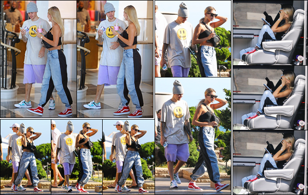 - ''09/08/2019'' • La jolie Hailey Baldwin faisait du shopping au«Barney's New York»avec JB, à Beverly Hills. Ensuite, Hailey B. quittait le restaurant « Nobu », à Malibu ! Plus tard, Hails a été aperçue alors qu'elle était dans une voiture, à Malibu. -