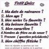 Petit Quizz