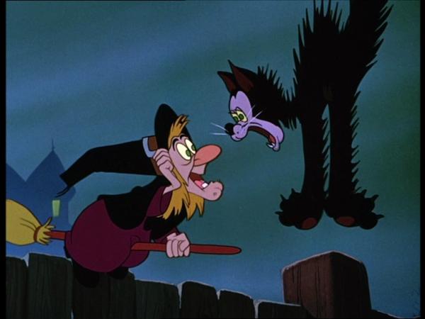 Hazel, du court-métrage Donald et la sorcière (Trick or Treat) (1952)