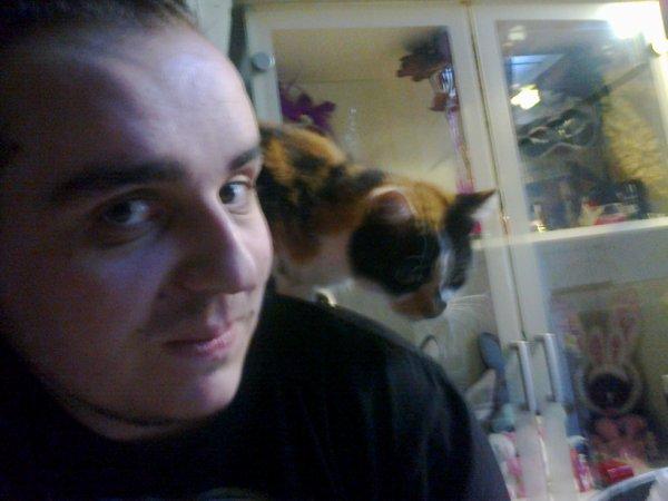 Moi et mon chat :D